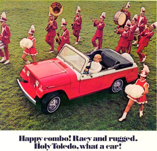 1967 Jeep Jeepster Brash Girl